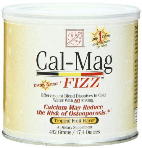 Cal-Mag Fizz Tropical Fruit Flavor 17 Oz.