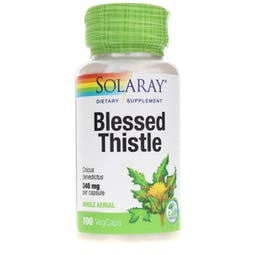 Solaray Blessed Thistle 340 mg 100 Capsules
