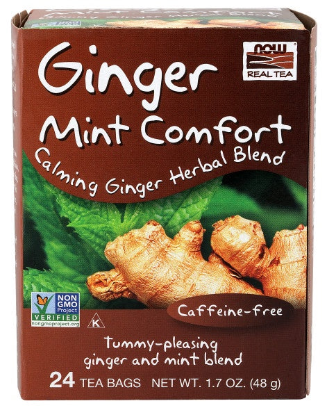 Ginger Mint Comfort Tea - 24 Tea Bags
