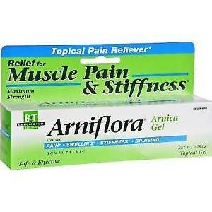 Arniflora Homeopathic Arnica Gel for Muscle Pain & Stiffness