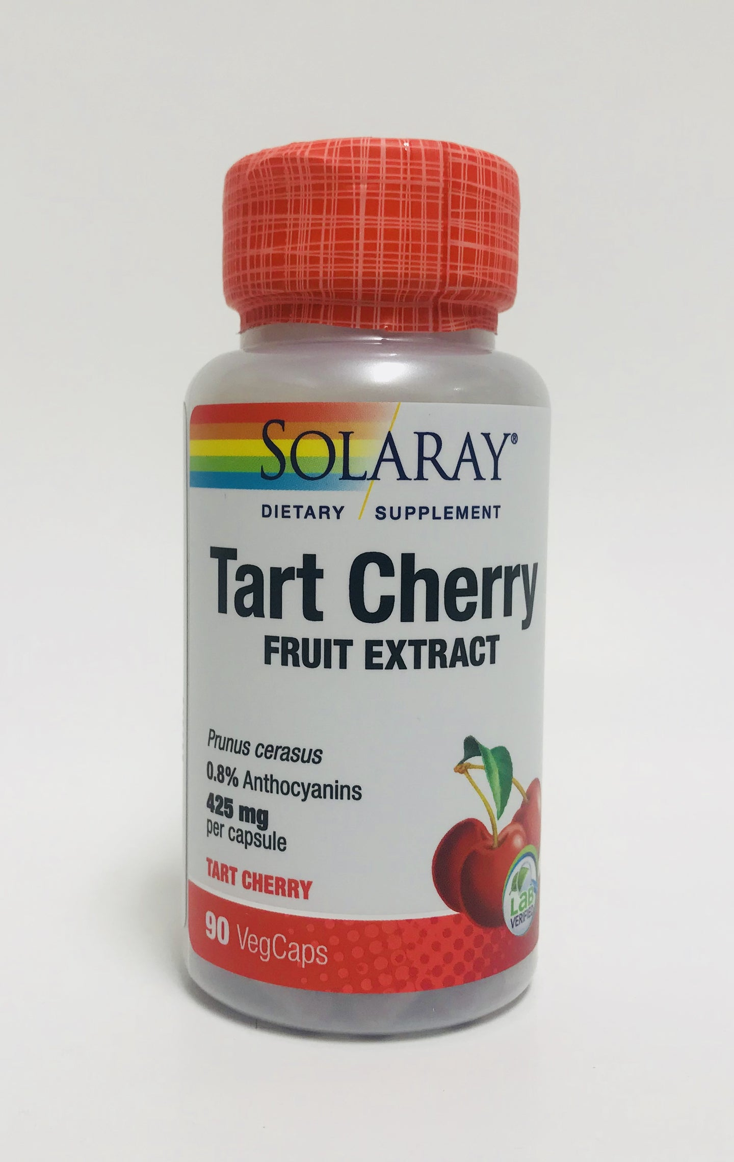 Solaray Tart Cherry Extract 425 mg 90 Capsules