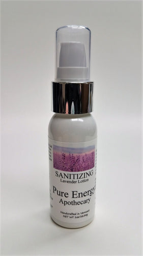 Pure Energy Apothecary Sanitizing Hand Lotion Lavender 1 Oz.