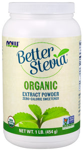Better Stevia Extract Powder, Organic - 1 lb.