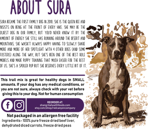 Sura's Trail Mix For Dogs