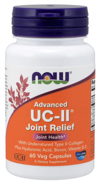 Now UC-II Joint Relief 60 Vegetarian Capsules