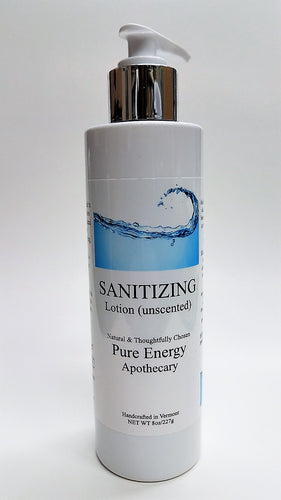 Pure Energy Apothecary Sanitizing Hand Lotion Unscented 8 Oz.