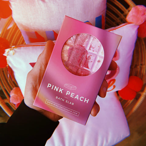 PINK PEACH BATH SLAB