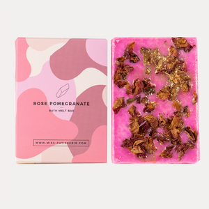 ROSE POMEGRANATE BATH MELT BAR