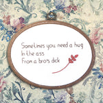 Rude Embroidery - Hug