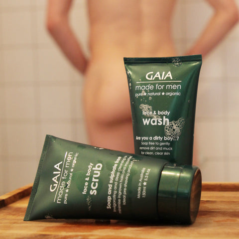 Gaia Made For Men - Face & Body Wash