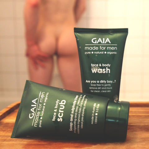 Gaia Made For Men - Face & Body Scrub