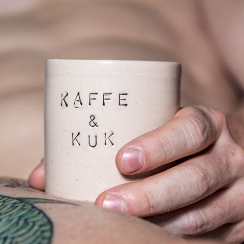 Coffee mug - Kaffe & Kuk