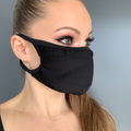 Solid Lycra Face Mask
