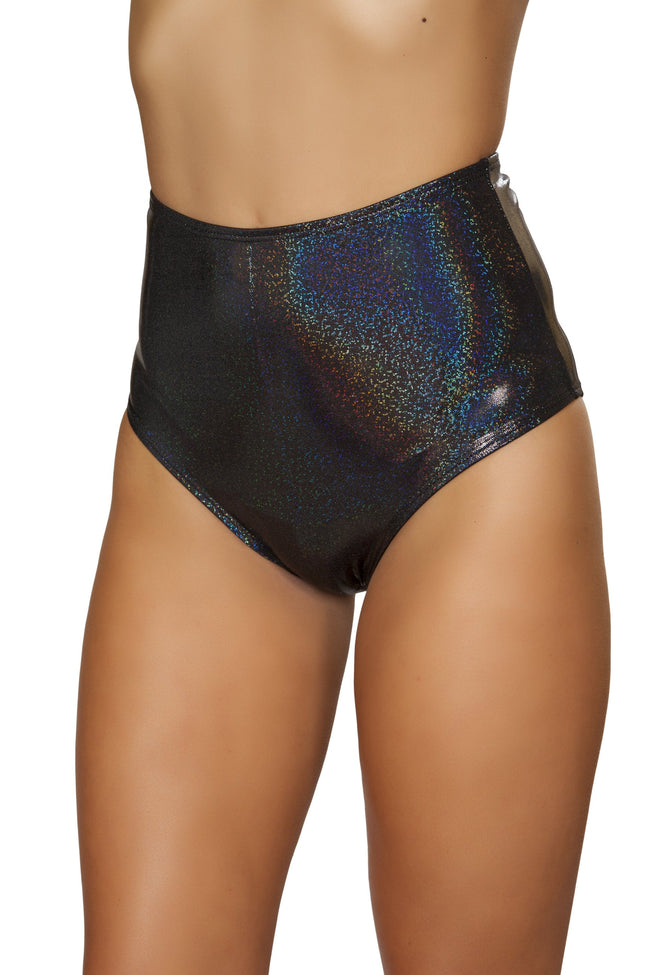Shimmer High Waisted Shorts