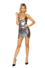 Shimmer Spaghetti Strap Dress