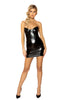 Stretch Leather Tube Dress