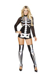 Jackie Skeleton Halloween Costume