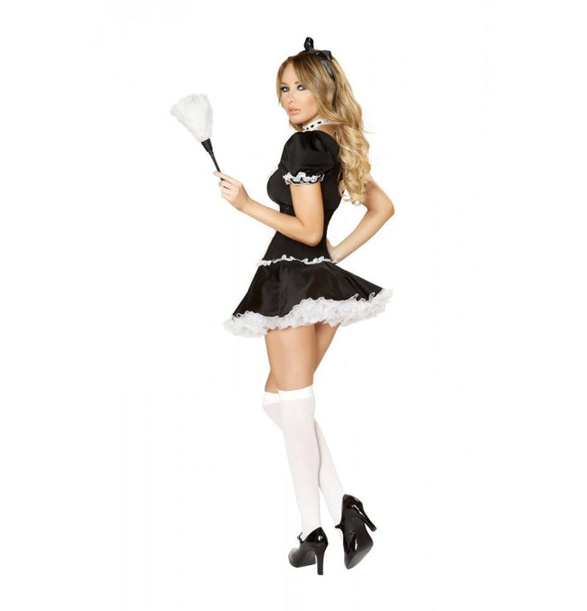 4537 4pc Mischievous Maid Costume - Roma Costume New Products,Costumes,2014 Costumes - 2