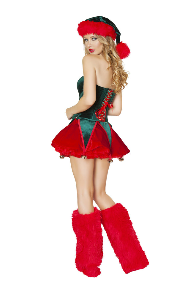 Christmas Red and Green Naughty Elf