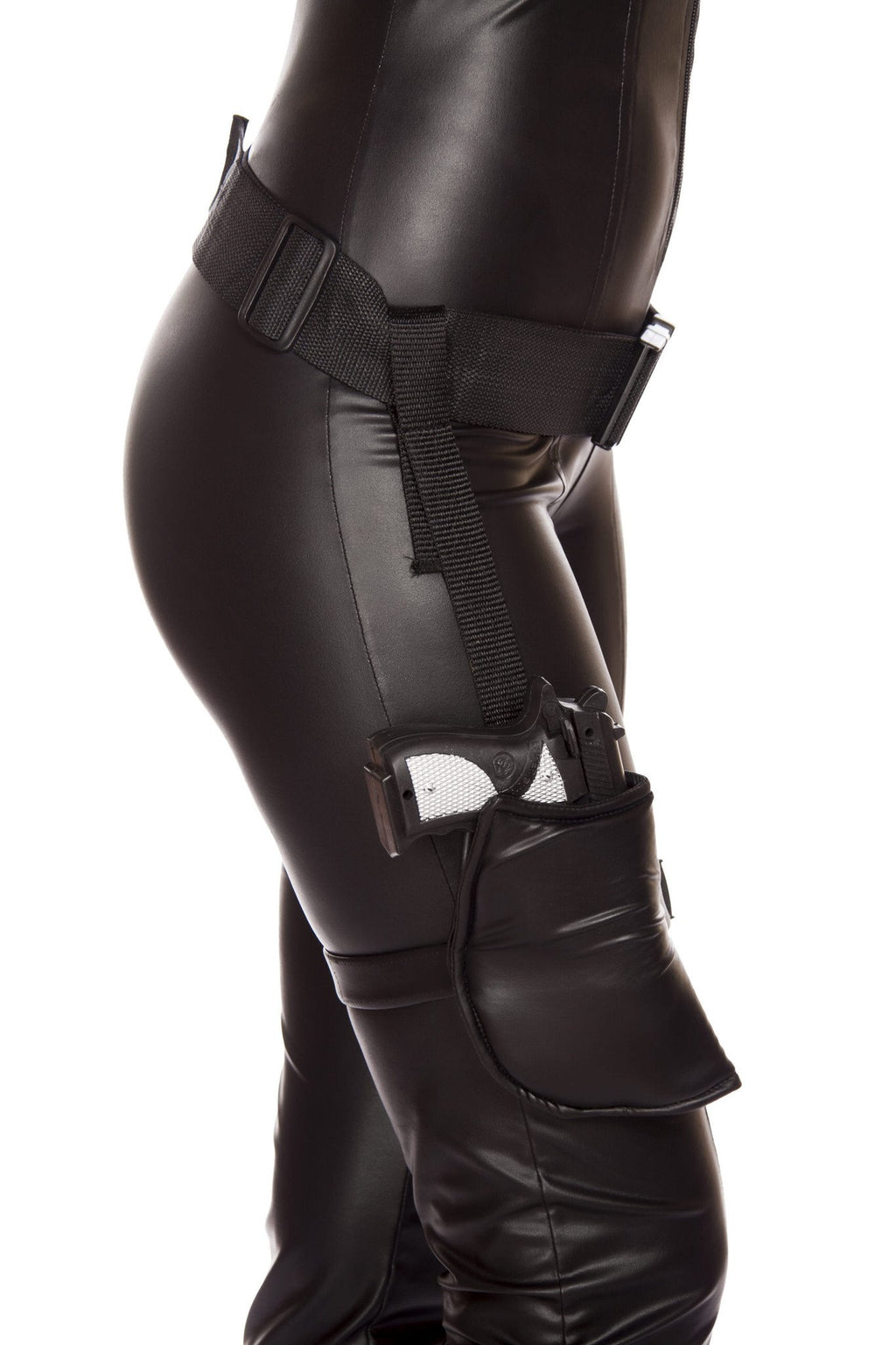 Leg Holster with Connected Belt (Gun Not Included)