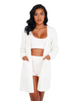 Cozy & Comfy Fuzzy Robe Mingle Set with Pocket
