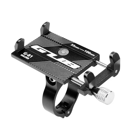 GUB G-81 Adjustable Anti-Slip Phone Holder for E-Scooters & E-Bikes
