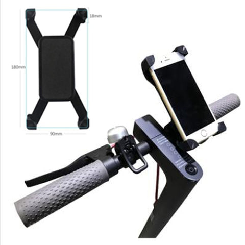 Handlebar Phone Holder for Electric Scooters in UK 2020