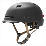 Smart4U Sh50L Helmet with LED Lights Waterproof with Built-in Air Ducts Black