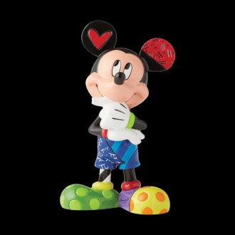 DISNEY BRITTO MICKEY THINKING MEDIUM FIGURINE