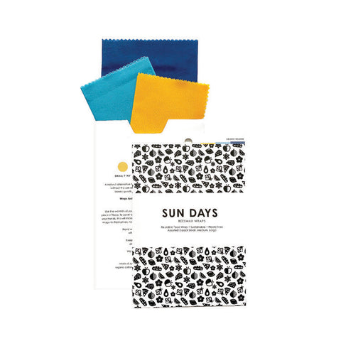 Beeswax Wraps - 3 Pack - Revibe Store