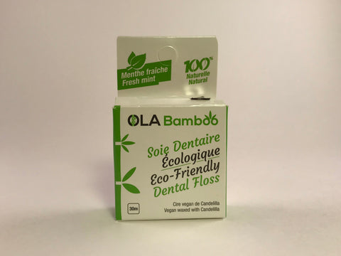 Bamboo Dental Floss - Revibe Store
