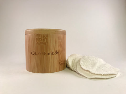Reusable Bamboo Cosmetic Pads - Revibe Store