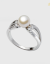 Simple Elegant Pearl Ring - FIN-R0167