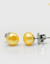 FRESHWATER PEARL EARRINGS FIN E1002