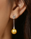 FRESHWATER PEARL LOVELY EARRINGS FIN E5492