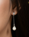 FRESHWATER PEARL EARRINGS FIN E5498