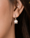 FRESHWATER PEARL CLASSIC EARRINGS FIN E5504