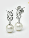 FRESHWATER PEARL EARRINGS FIN E5510