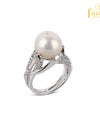 Wedding Freshwater Pearl Ring - FIN R9067