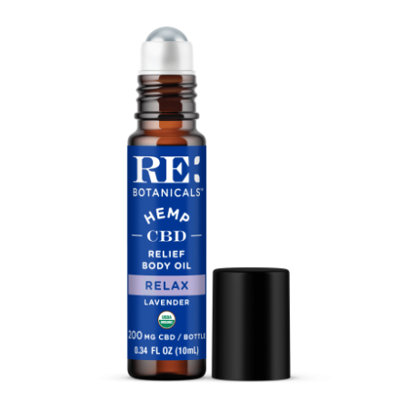 Organic Full Spectrum CBD Relief Body Oil