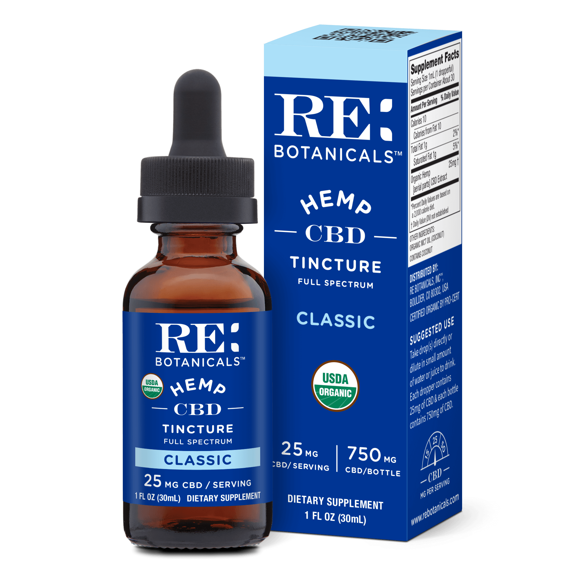 Organic Full Spectrum CBD Oil Tinctures