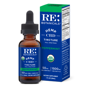 Hemp 50mg Peppermint Tincture - 30mL