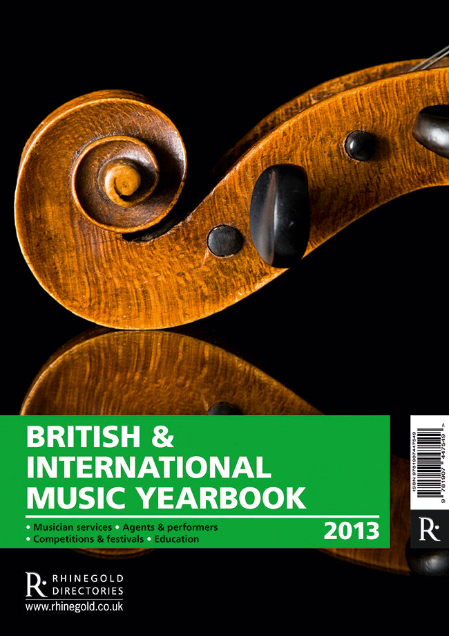 British & International Music Yearbook 2013