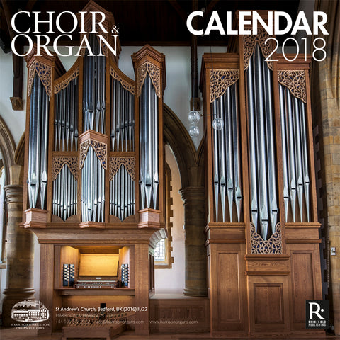 Choir & Organ Calendar 2018