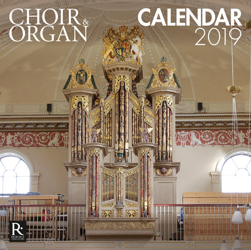 Choir & Organ Calendar 2019