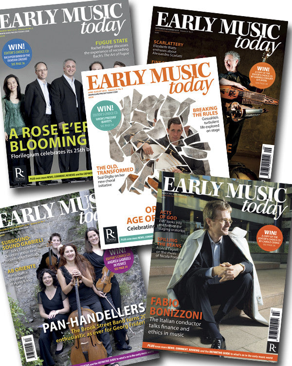 Early Music Today: 8-issue bundle