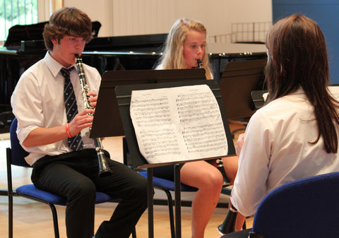Coping with the GCSE ensemble experience