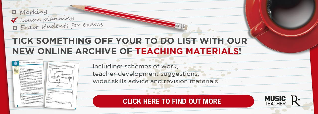 Music teaching materials