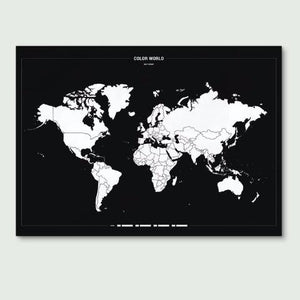 Colour your World Map