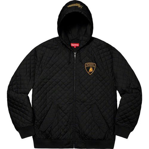 Supreme Automobili Lamborghini Hooded Work Jacket